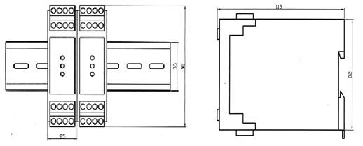 进液控制:液位低于下限时,继电器吸合,黄色灯亮,水泵电机启动